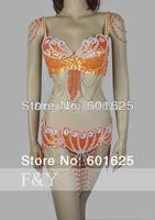 Одежда для танца живота F & Y . 36D /38C /38D /40D tf1359
