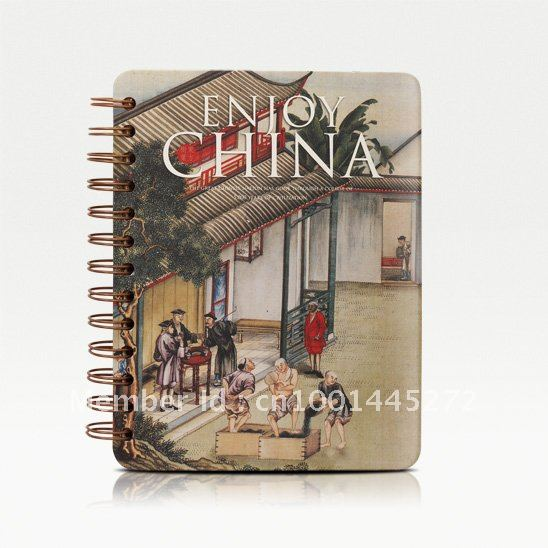 Free EMS Chinese Style Store Up Tea Hardback Paper Notebook/ Diary Book/ Notepad/ Fashion Gifts Wholesale(China (Mainland))