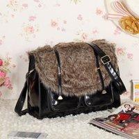 Free shipping-winter new fur handbag women's single shoulder bag wholesale