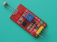 free shipping 10pcs   Photosensitive sensor   light detection photoresistor module