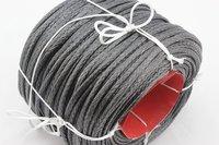 Free shipping! 100M/piece 3700LB Dyneema braid paraglider winch rope 4mm 12 strand