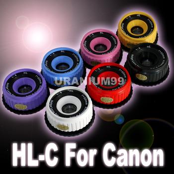Holga DSLR Lens HL-C for Canon Canon EOS 7D 60D 50D 40D 600D 550D 500D 1000D Digital Camera Lomography Lomo - 6 Color
