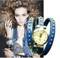 Promotion! 1PC Free Shipping Retro&Punk Watch High quality ROMA watch header,hot sales Women Bracelet Watch for Christmas Gift