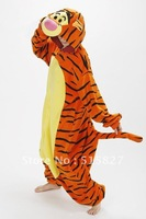 New Children Adult Fleece Lovely Tiger Pyjamas Pajamas Sleepsuit sleepwear Onesie
