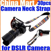 Vintage Hippie Letter Sling Camera Shoulder Strap Neck Belt for Digital DSLR SLR Camera 30pcs/lot Free Express