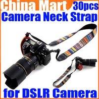 Vintage Hippie Letter Sling Camera Shoulder Strap Neck Belt for Digital DSLR SLR Camera 30pcs/lot Free Express
