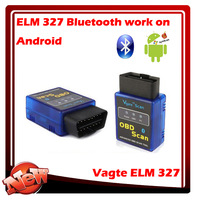 OBD2 / OBD II Auto Car Diagnostic Scanner OBDII 2012 elm327 mini bluetooth free shipping Android Torque v2.1 ELM 327 Interface