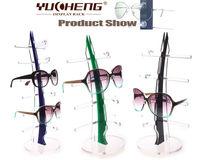 [YUCHENG] hot selling counter top fashion acrylic sunglass display rack free ship Y081-4 6pcs/lot