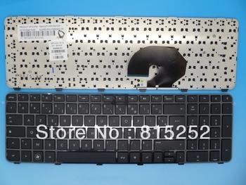 Laptop Keyboard For HP Pavilion DV7 DV7-6000 DV7-6100 With Black Frame Black France FR 639396-051 V122503AK1