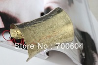 Free Shipping by Express,100pcs/lot, Punk Cheap Iron Statement Style Metal Cuff Vintage Gold Big Wide gothic Bangle