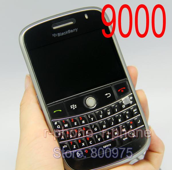 9000 Cellphones Original Refurbished Blackberry 9000 Bold Mobile Phone Unlocked 3G GPS Wi-fi Bluetooth & One year warranty(China (Mainland))