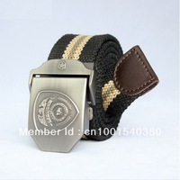 Canvas Belts The United States Police Style Men's Belts,Outdoor Sport Belt,Womens Belt Good Gift YD005