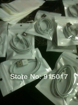 In stock ! 8 pin to USB Cable for iPhone 5 USB 2.0 Cord Data Cable Sync 8 PIN Charger Adapter Free shipping