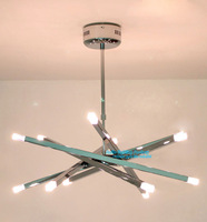 Free Shipping European Style Modern Hot Selling Overpass Chandelier Light  Adjustable Suspension Lamp