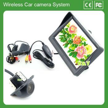 4.3 led display back up camera wireless oem parking sensor ccd camera car 12 v