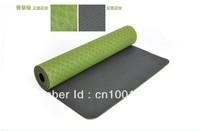 skidless green yoga mat free shipping