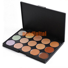 Wholesale 15 colors makeup Camouflage / Concealer Neutral Palette(China (Mainland))