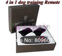 2pcs/lot  4in1 Control Shock Remote+Vibrating Dog Training Collar