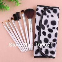 7 PCS Professional Makeup Brush Facial Care Facial Beauty Cosmetic Brushes Set With Case #23161