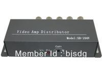 Model:SD-1V4, 4 Channel active Video amplifier splitter