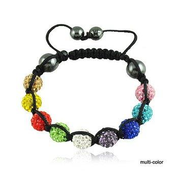 Bead Bangles Promotion Beads Shambala Bracelets Shamballa Jewelry
