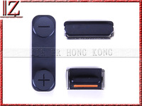 3 in 1 Complete Side Buttons Set for iPhone 5 (Power + Volume + Mute Switch) MOQ 100 pic//lot free shipping fedex 3-7days