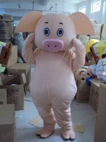 Little Cute Pig Mascot Costume Fancy Dress Outfit EPE