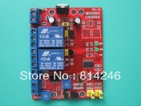 Free shipping , Two-way 12V delay relay module normally open trigger delay switch vibration delay module