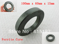 Dark Gray Power Transformers Ferrite Toroid Cores 100mm x 60mm x 15mm