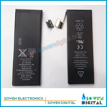 Mobile phone Battery for iPhone 5 5G Original Free Shipping,best price