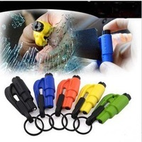 Automotive safety hammer portable safety hammer color random