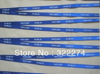 custom top quality 10mm width logo text words message print logo neck lanyard,many color available promotion cheap lanyard