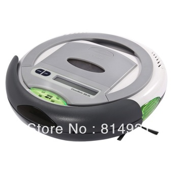 Robotic vacuum cleaner QQ2L-W(For Thailand  buyer)-time control,auto-charege cleaner,original design,good quality,Best vacuum