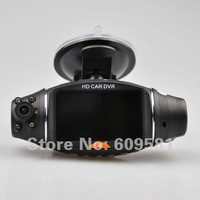 "Dual camera car dvr  2.7"" TFT LCD Infrared Night Vision GPS G-Sensor dvrs For volkswagen subaru toyota mazda Free shipping"