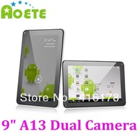 "Cheap Tablet PC  9"" Allwinner A13 Dual Camera Capacitive 8GB Nandflash Android4.0 From Aoete"