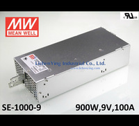 Mean Well 900W 100A 9V Single Output Switching Power Supply SE-1000-9 UL wholesale Power Supplies