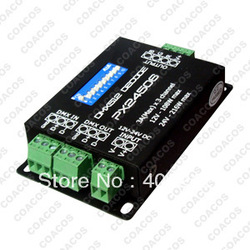 DMX512 PX24506 Decoder Driver 9A DMX 512 Amplifier 12V 24V RGB LED Lights(China (Mainland))