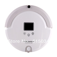 (Free Shipping For Thailand Buyer)Vacuum Robot Cleaner, LCD Screen,Touch Button,Schedule,Virtual Wall