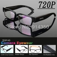2013 new design HD720P fashion sport glass camera dvr vedio recorder/mini camera/ hidden camera with retail box  free shipping
