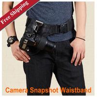 Mountain Belt Easily Carry Snapshot Waistband camera waist hanging for DSLR Camera