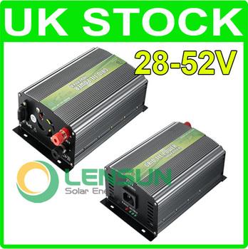 WHOLESALE UK STOCK,350W Grid Tie Inverter 28-52V DC,230V AC,FAST SHIP,NO CUSTOM TAX
