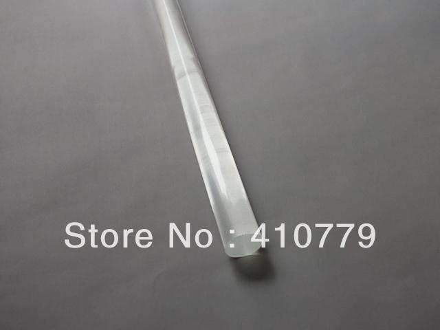 Пластмасса THZ Acrylic Plexiglass Clear Rods OD6X1000MM PMMA ROD Handicraft Household Adornment Plastc Bar Aquarium Can Cut Any Size