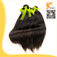 Queen Hair Products brazilian virgin hair straight human hair extension, 6A Grade,4pcs lot,Natural color