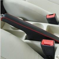 Genuine leather handbrake cover  Golf 6 / Sagitar leather handbrake sleeve