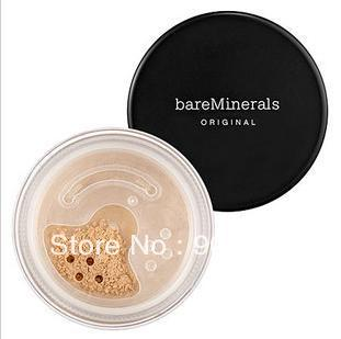 cheap NEW!!! id bare Minerals Escentuals MEDIUM BEIGE N20  FOUNDATION 8g 2pcs / lot  free shipping