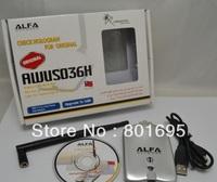 Free shipping alfas USB WIFI ADAPTER Alfa Network card wireless wifi card 54Mbps 5dBi Antena