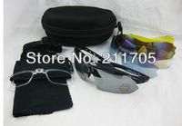 Bike Bicycle Cycling Glasses Sunglasses,Colorful 5 Lens Motorcycle Goggles Glasses Ski Snowboard Eyewear