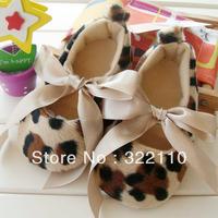 Leopard toddler shoes Baby Prewalker Infant Cack Kids shoes First Walkers Cartoon Footwear soft Socks