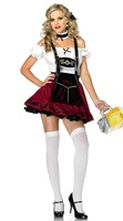 Holiday Sale Sexy Dutch Beer Girl Cosplay 5198#Halloween Adult Costume Fancy Dress Clubwear Wholesales