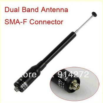 Nagoya NA-773 SMA Female dual band antenna Telescopic144/430MHz for UV-5R KD-UVD1P TG-UV2 UV-B5 UV-B6 BF-888S BF-666S UV-82 etc.